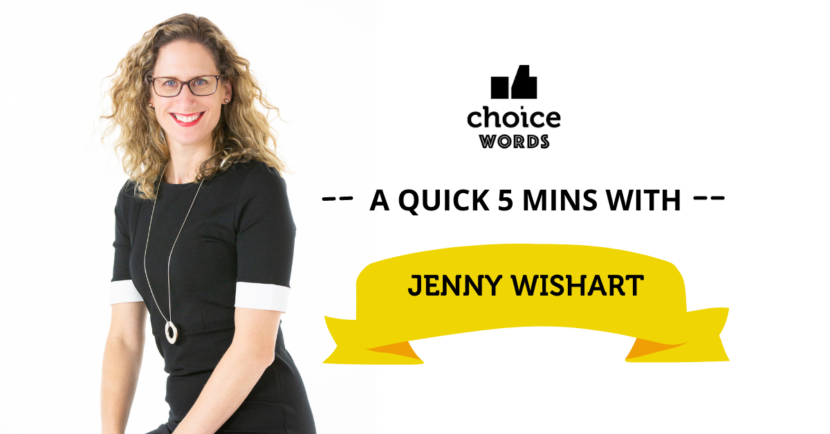 A Quick 5 Minutes with Jenny Wishart